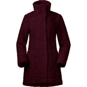 Bergans Oslo Wool LooseFit Veste Femme, zinfandel red melange